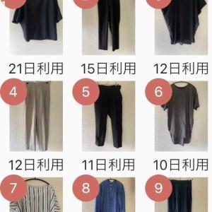 服の管理はアプリで楽しく