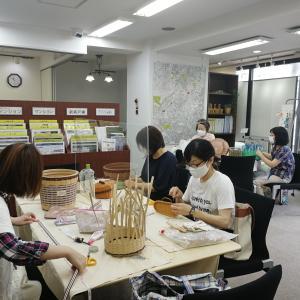 菊名教室、5カ月ぶりにクラフトバンドレッスン再開。