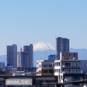 「昨日23区内から見た富士山」@2019.11.13:妃ジュエルのひとり言