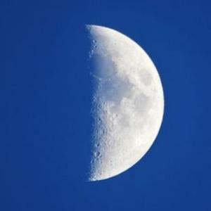 明日9月24日「上弦の月:山羊座」月からのメッセージ