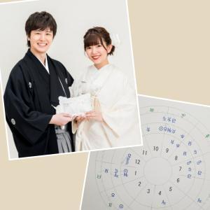 三浦祐太郎さん・牧野由依さんの運勢(ご結婚おめでとうございます)