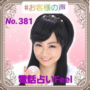 お客様の声(電話占いFeel)No.381