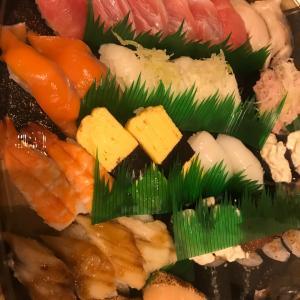 今日も寿司かしょ