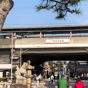 ▩ 大阪・住吉・桜は満開は真っ盛り  食通は大阪の住吉に通う