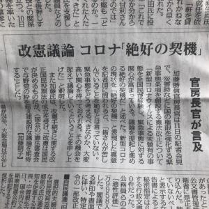 ▩ 2021年  6月  新聞詠み   ⑨
