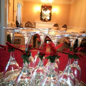 クリスマスパーティーの準備