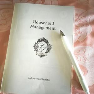 【家計管理】オリジナル家計必勝ノートを作りました♡家計管理レッスン受講生へのプレゼント!