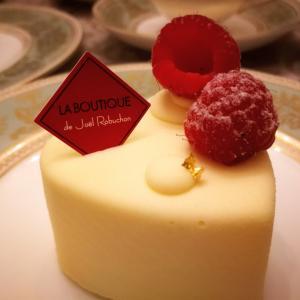 ジョエル・ロブションのケーキにはアッサム2ndフラッシュを♡