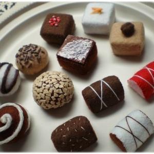 チョコレートのキーチャーム