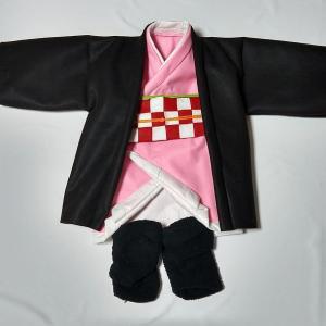 作り方公開!禰豆子のベビー用衣装。②帯編③羽織編