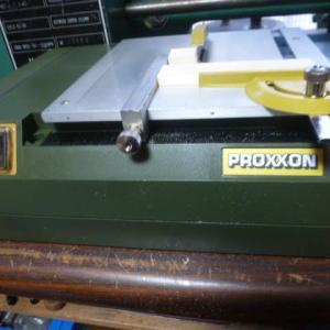 Proxxonミニテーブルソー 丸鋸の目立て