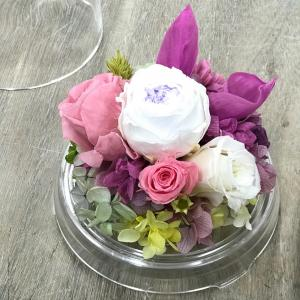 カラーの入ったお供え花