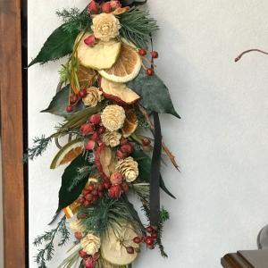 クリスマスガーランドサンプル作りました