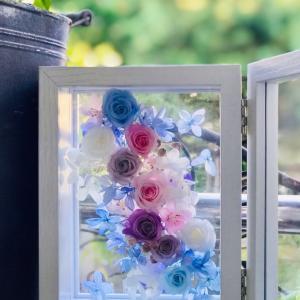 透明感のある贈呈花