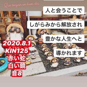 マヤ暦KIN125の今日は… 『同志をもつ』赤い蛇 白い鏡 音8