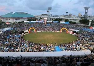 沖縄の熱い夏『全島エイサーまつり2019本祭』演舞➂@沖縄市