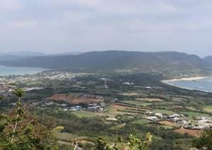奄美のくびれ『2つの海が見えるポイント』@奄美大島龍郷町