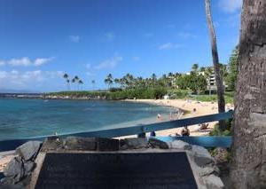 憧れのハワイ・マウイ島の旅26理想のトロピカルビーチ『カパルア・ビーチ』