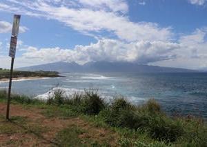 憧れのハワイ・マウイ島の旅33サーファーの街『パイア』①サーフビーチ