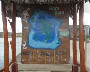 天国への旅30.ボラボラ島の中心村『バイタペ』散索①