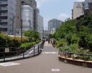2021東京世田谷ポタリング『烏山川緑道』①