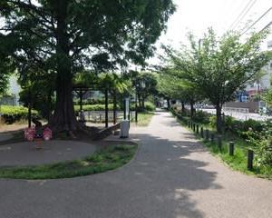 2021東京世田谷ポタリング『烏山川緑道』④