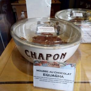 チョコレートムースバーが有名なCHAPONさんのチョコレートムース&ブリードゥモーを求めて。