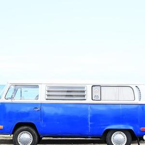 Island Style VW Bus ~ Ocean Blue ~