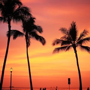 Sunset @ Queens Beach!