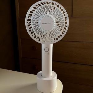 Francfranc(フランフラン)携帯扇風機買って頂きました~。