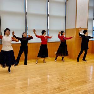 おゆみ野公民館で社交ダンスサークルスタートしました!(^^)