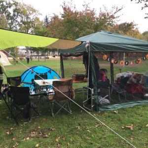 今年最後のディキャンプ