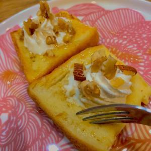 簡単おやつ  フレンチトースト