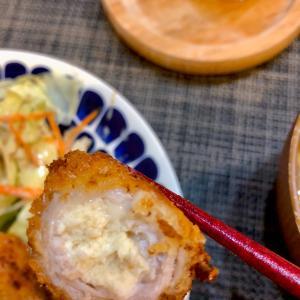 冷凍豆腐で豚巻きフライ