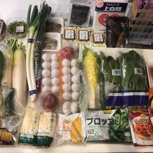 野菜の買い出し、ドッサリ!
