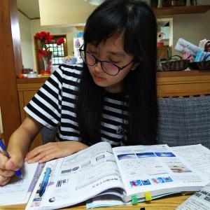 うちの子供の、勉強の本領発揮・・・?
