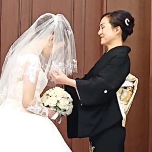眩しかった花嫁姿