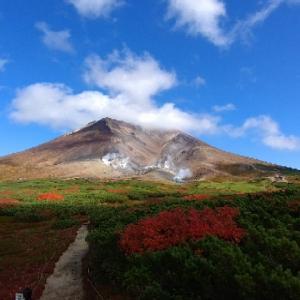 旭岳の紅葉は素晴らしかった