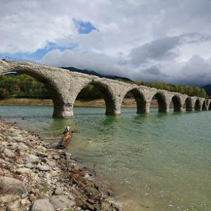 旧タウシュベツ川橋梁は遠い!