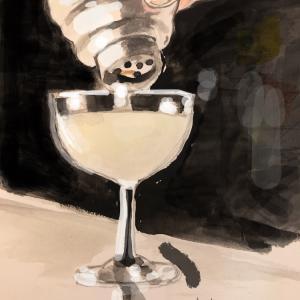 お酒と Night and Day。