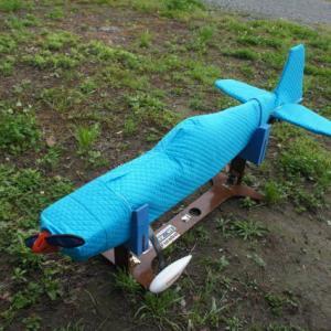新作機の初飛行 Hokuseimodel CAP232 26cc
