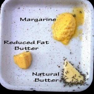 食べるプラスチックと迄言われているマーガリンの素となっている「トランス脂肪酸」 !!!