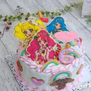 プリキュアケーキ~♡
