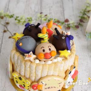 ケーキポップスのアンパンマンケーキ②♡