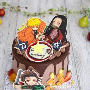 鬼滅の刃ケーキ!