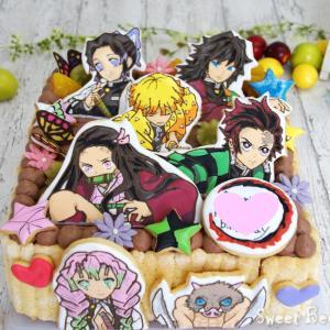 鬼滅の刃ケーキ~チョコケーキver