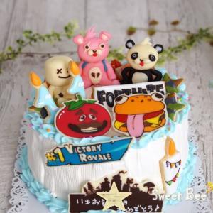 フォートナイトのケーキ~(≧▽≦)