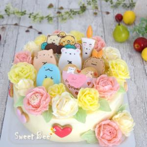 色んなすみっコぐらしケーキ♡
