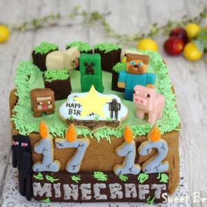 ゲームのケーキ~☆彡①