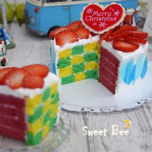 アレ柄のケーキ~②(≧▽≦)
